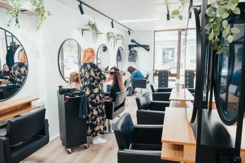 modern hairdressers in cronulla
